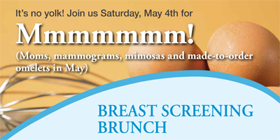 Breast Screening Brunch